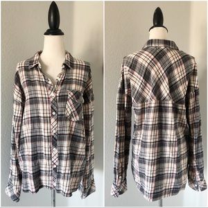 Volcom Plaid Button Down Flannel